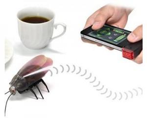 Cucaracha Teledirigida controlada por iPhone o Android