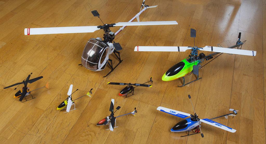 Tipos de helicopteros rc