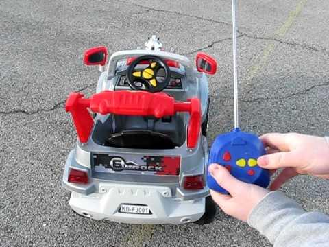 coche eléctrico rc